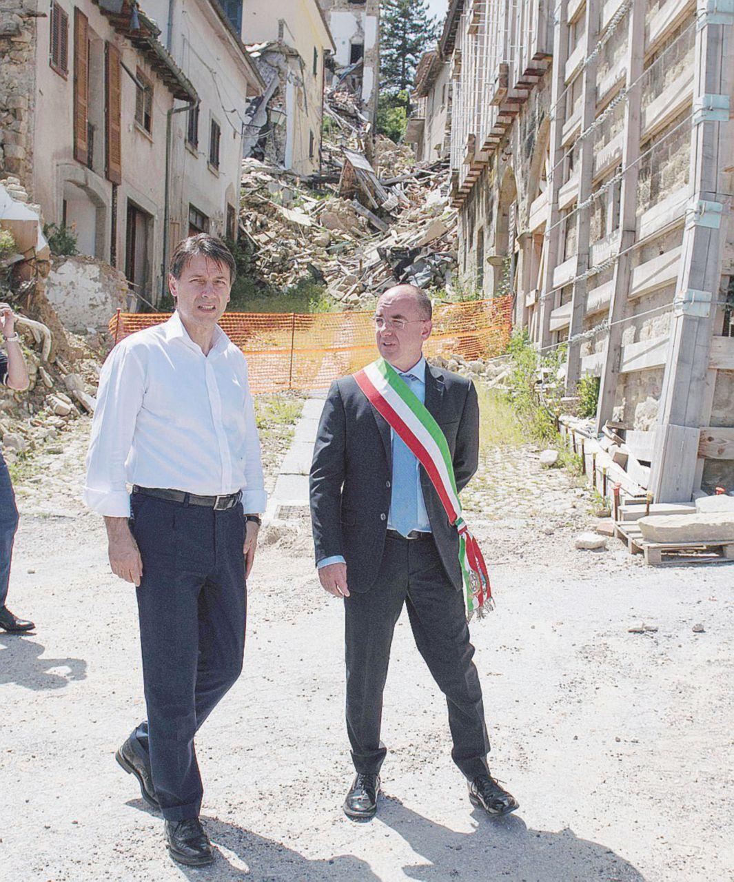 """Conte: """"Sui tempi per ricostruire non ho risposte"""""""