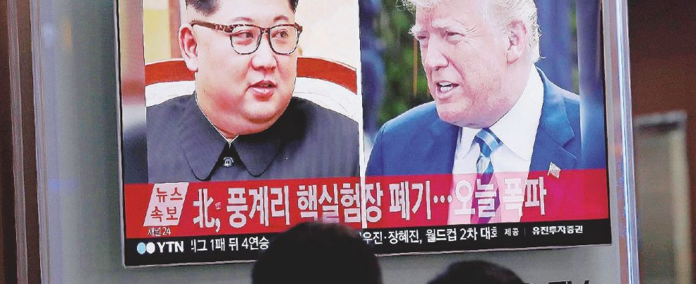 Sfida atomica Kim-Trump: guerra o pace hollywoodiana