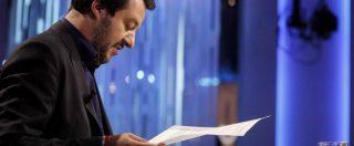 """Aquarius, Salvini: """"Con Conte e Di Maio perfetta sintonia. Macron? Parigi si doveva prendere 9mila persone, non 600"""""""
