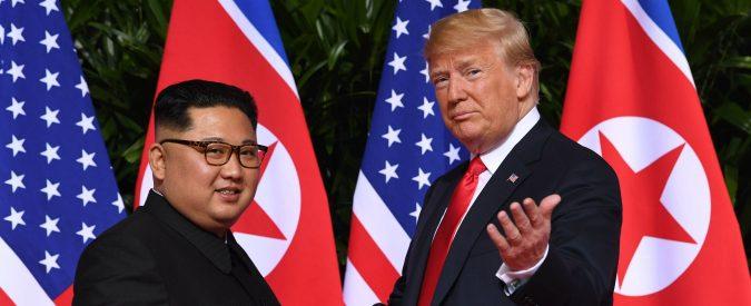 Donald Trump e Kim Jong-un a Singapore, questo summit l'ha voluto Moon Jae-in