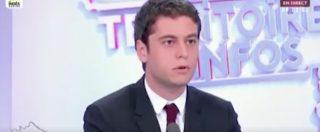 """Aquarius, Attal (portavoce En Marche): """"La posizione del governo italiano è vomitevole"""""""