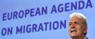 """Migranti, commissario Ue: """"Su Aquarius non faccio il gioco del biasimo. Problema europeo, serve risposta europea"""""""