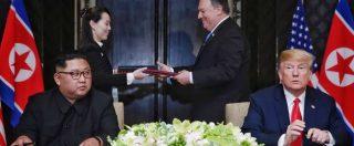 Kim e Trump, teatro perfetto a Singapore. Ma il rischio maggiore per l'intesa sono loro due