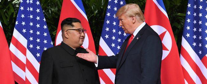 Donald Trump e Kim Jong-un a Singapore, incontrarsi e dirsi banalità. Poi negoziare sul serio