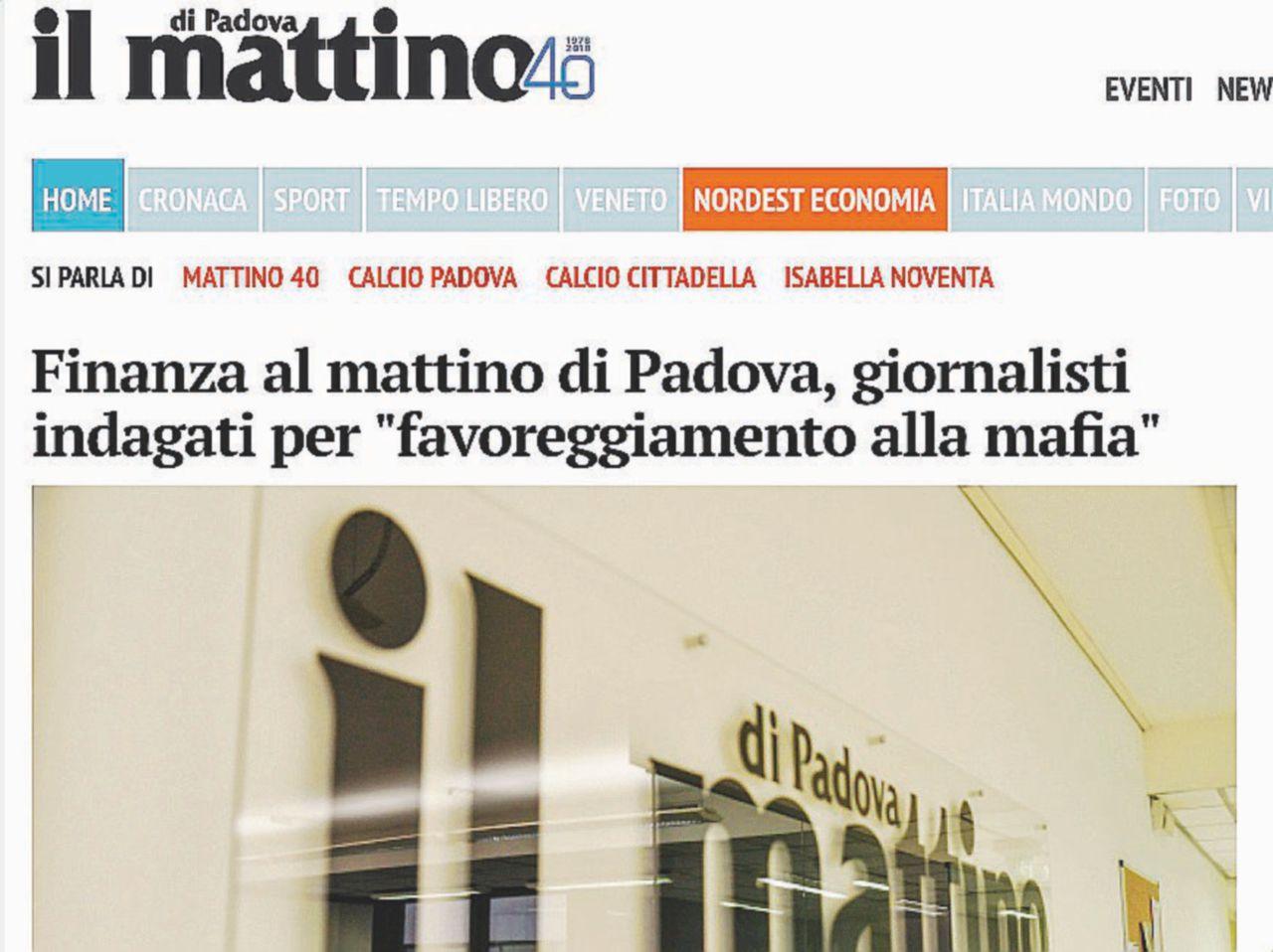 Pubblicarono le foto del figlio di Totò Riina: la Finanza perquisisce il Mattino di Padova