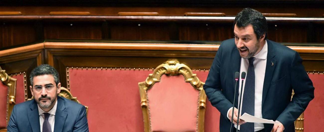 """Aquarius, Salvini: """"Francia chieda scusa e accolga 9mila migranti come promesso. Bimbi morti in mare sono morti di Stato"""""""