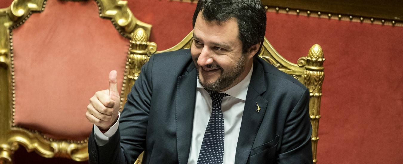 """Sondaggi, non solo i """"porti chiusi"""": la linea Salvini in Europa piace a due elettori su tre, plebiscito nel centrodestra e M5s"""