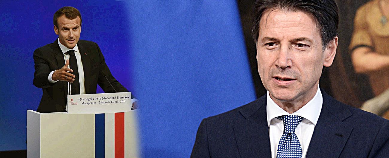 """Aquarius, lite Italia-Francia. Conte verso rinvio dell'incontro con Macron: """"Non ci sono condizioni"""". Da Parigi nessuna scusa"""