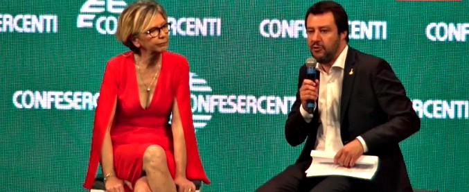 """Fisco, Salvini: """"Fosse per me nessun limite a spesa in contanti"""". Il Pd: """"Così si favoriscono le mafie. Il M5s cosa dice?"""""""