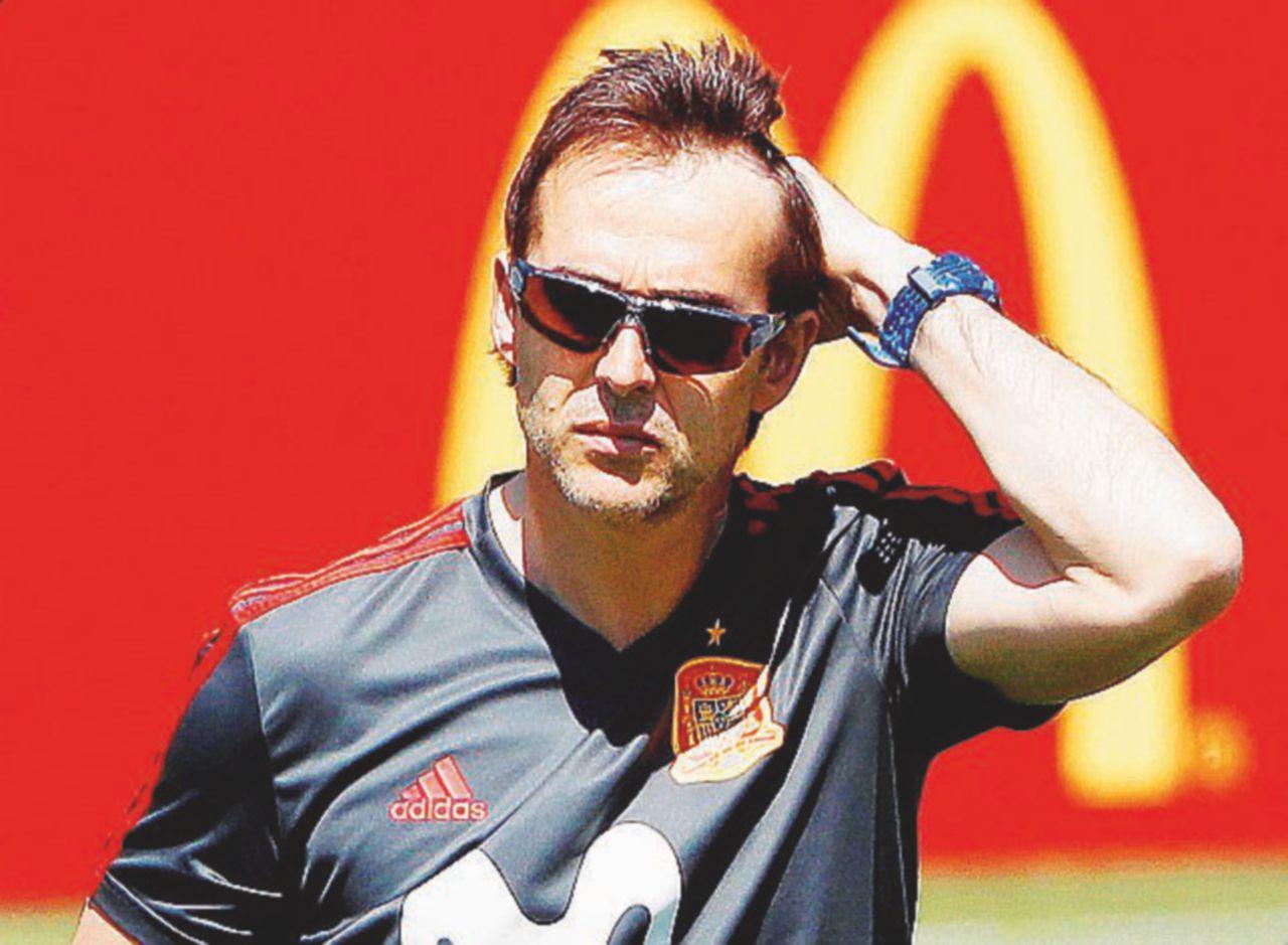 """La """"furia"""" spagnola colpisce il suo ct: via il Real Lopetegui"""