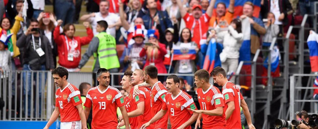 Mondiali  Russia Arabia Saudita   La Nazionale Gonfia Il Petto