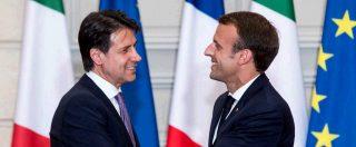 """Migranti, Macron-Conte: """"Intesa su zona euro e migranti"""". La linea: """"Creare hotspot nei Paesi d'origine e di transito"""""""