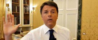 """Stadio Roma, Renzi: """"Bonafede venga in Senato a spiegare quali sono i suoi rapporti con Lanzalone"""""""