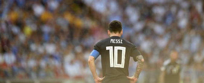 Mondiali Russia 2018, la prima sorpresa: Argentina-Islanda 1-1. Messi si fa parare un rigore da un ex regista