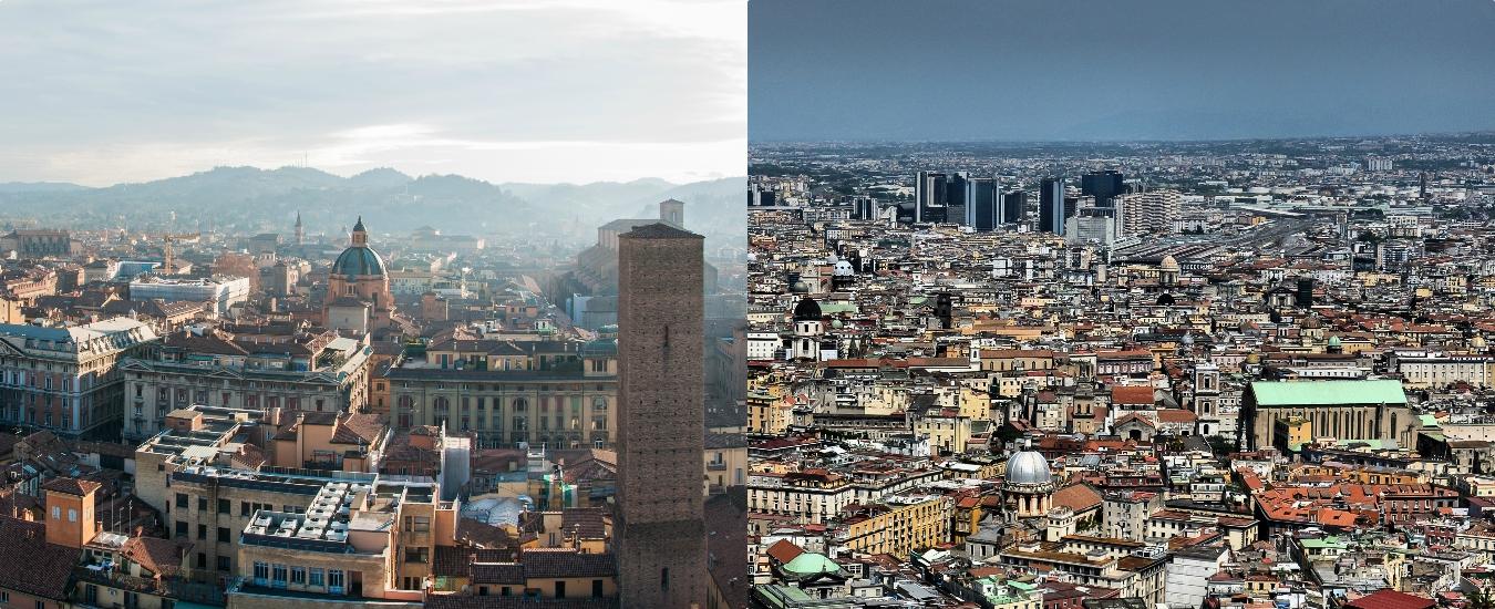 Bologna, per l'urbanistica prenda esempio da Napoli