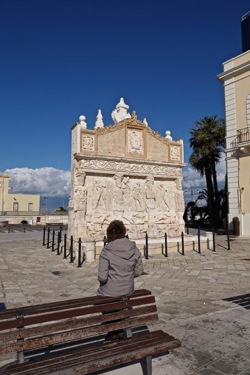 La fontana greca.
