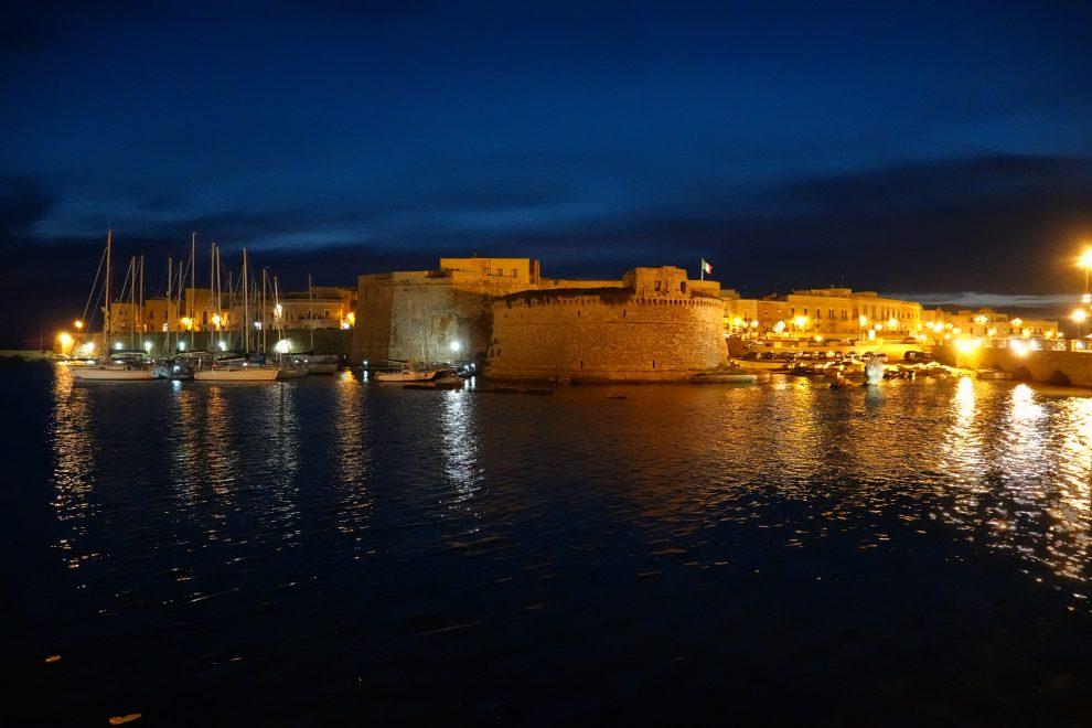 Il castello Aragonese.