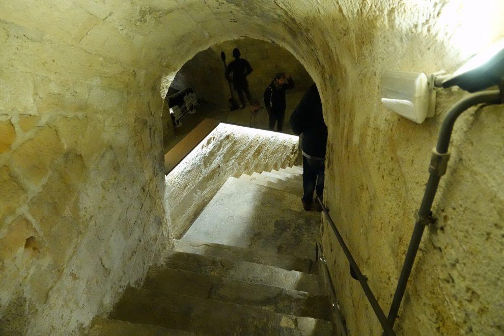 L'ingresso del castello.