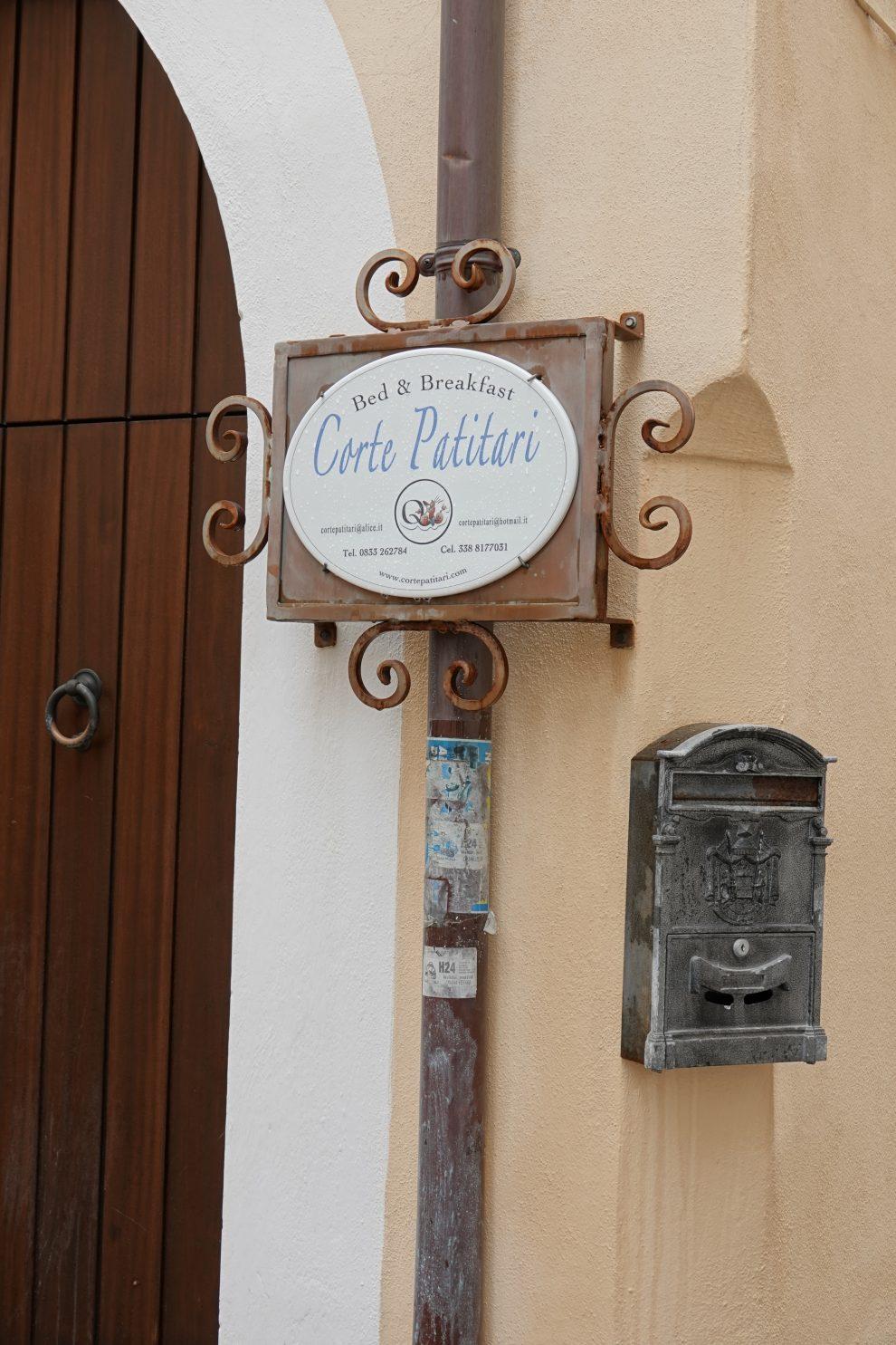 Un piccolo hotel in centro.