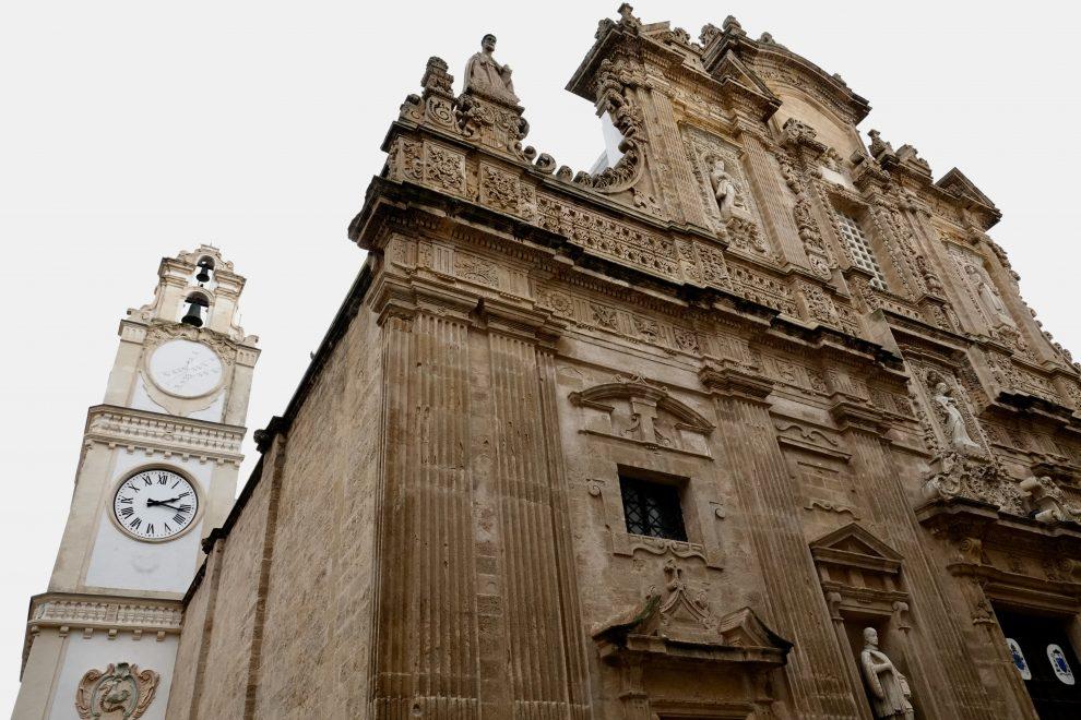 La cattedrale, basilica di Sant'Agata.