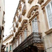 Un palazzo aristocratico nel centro storico.