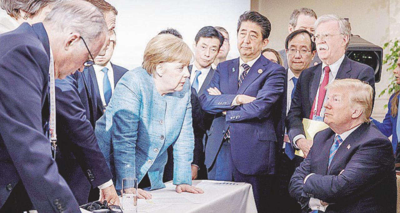 "L'altra verità di Trump G7-friendly: ""Alla faccia dei Fake News media"""