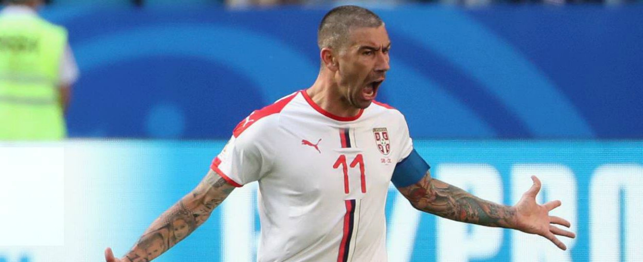Mondiali Russia 2018: Serbia-Costa Rica 1-0. Decide una punizione di Kolarov, brilla il talento di Milinkovic-Savic