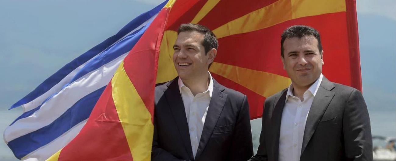 Macedonia, firmato lo storico accordo tra Atene e Skopje sul cambio del nome: violente proteste dei nazionalisti greci