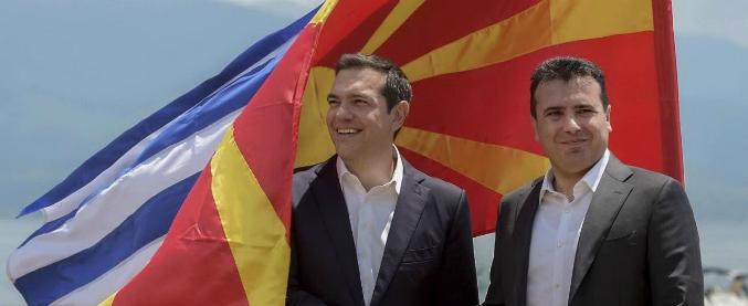 Macedonia, il cambio di nome approvato dal Parlamento. Si chiamerà Macedonia del Nord per entrare in Ue e Nato