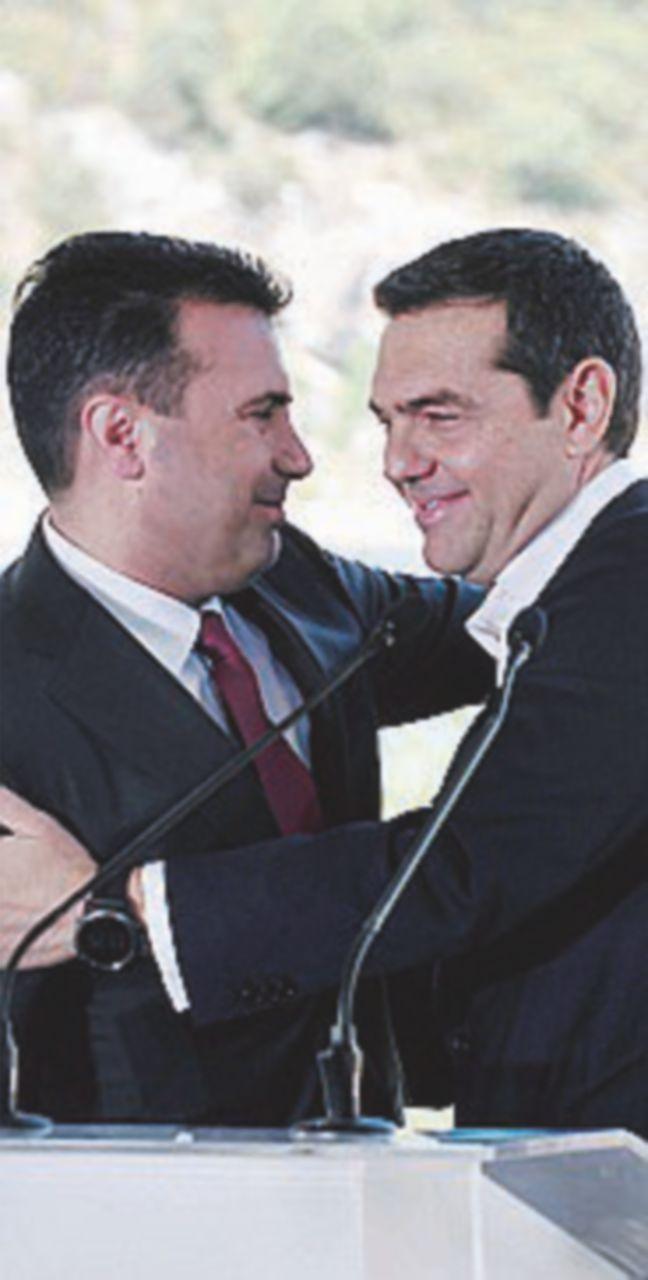 """Macedonia-Grecia Accordo """"storico"""". Ma la piazza protesta"""