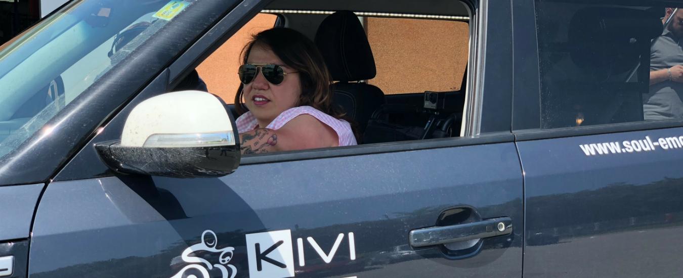Io viaggio da sola, il progetto di Valentina Tomirotti per superare i limiti al volante