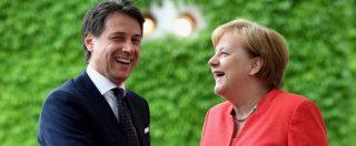 """Migranti, Conte incontra Merkel. La Cancelliera: """"Collaboriamo con l'Italia. Rafforzare le frontiere esterne"""""""