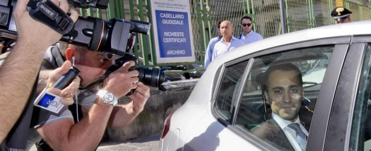 """M5s, Di Maio in Tribunale contro ex attivista: """"La sua espulsione fu legata alla querela di Casaleggio? Non ricordo"""""""