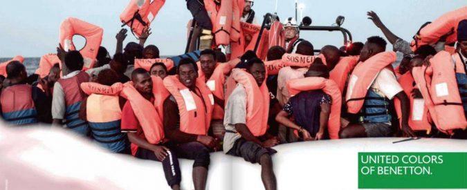 Benetton, cosa c'entrano i migranti con le magliette?