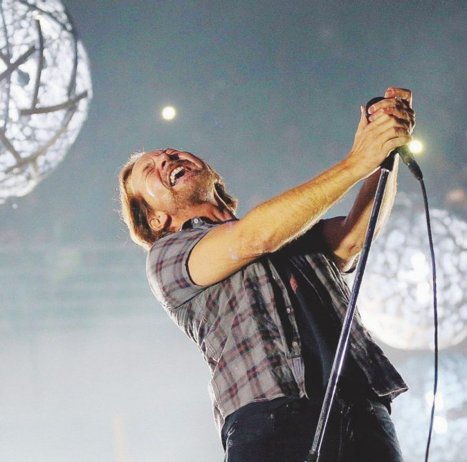 Pearl Jam in Italia ma nel mirino c'è sempre Trump