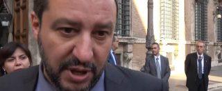 """Rom, Salvini: """"Non è la priorità del Paese. Censimento su base etnica? Nei campi potrebbero esserci eschimesi"""""""