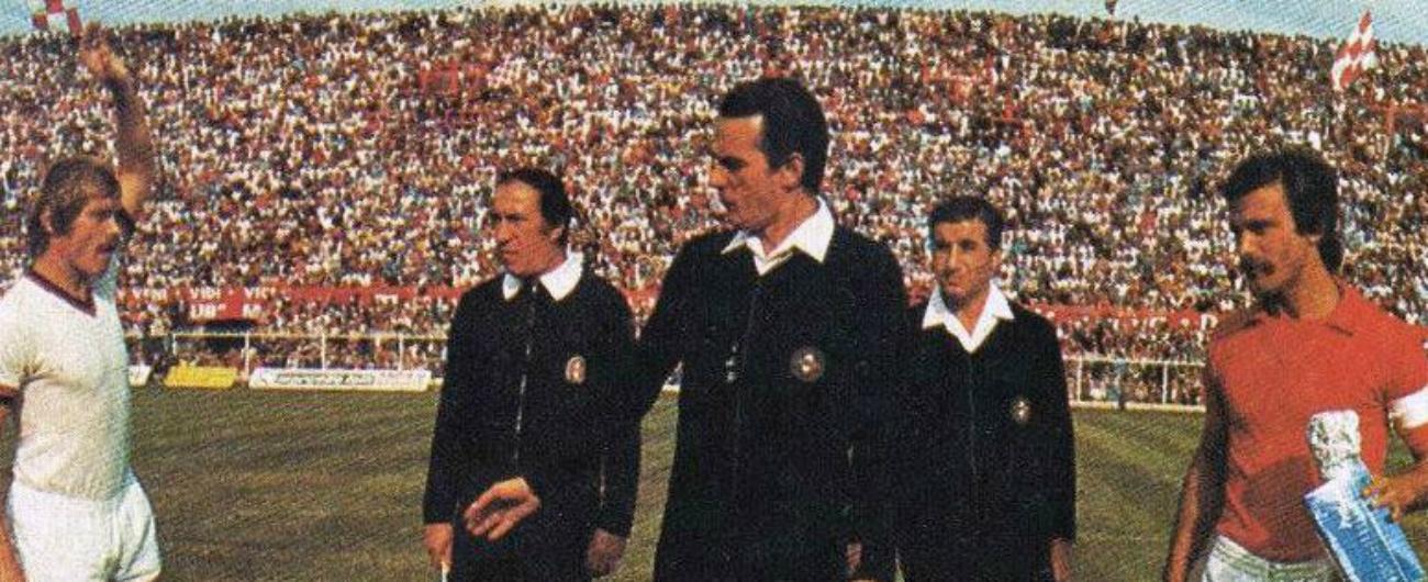 Sergio Gonella morto, fu l'arbitro della finale del Mondiale del '78 in Argentina