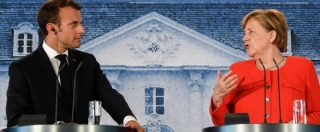 """Migranti, Merkel e Macron: """"Accogliere posizione dell'Italia e rafforzare Frontex"""""""