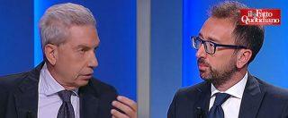 """Padellaro al ministro Bonafede (M5s): """"Salvini continua a fare il leader della Lega. Un danno al governo e voi state zitti"""""""