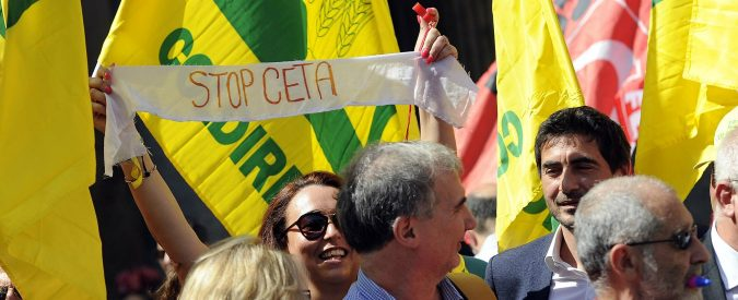 No alla ratifica del Ceta: bocciamolo non per protezionismo, ma per essere coerenti con i principi europei