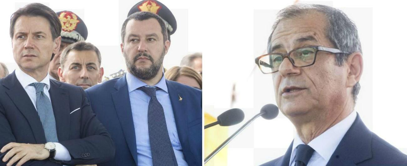 """Fisco, Salvini: """"Chiudere le cartelle sotto i 100mila euro"""". Tria: """"Aziende penalizzate da evasione, corruzione, criminalità"""""""