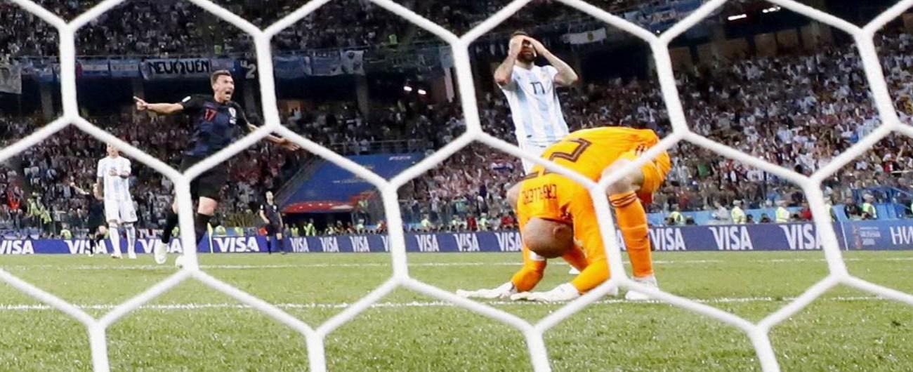 Mondiali 2018, Argentina-Croazia 0-3: Albiceleste a un passo dall'eliminazione, Perisic&co. sono già agli ottavi
