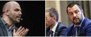 Saviano critica Salvini e il ministro mette in dubbio la sua scorta. Ecco chi l'assegna e perché lo scrittore è a rischio