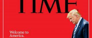 """Usa, la copertina del Time su Trump e i bambini separati al confine con il Messico: """"Che tipo di Paese siamo?"""""""