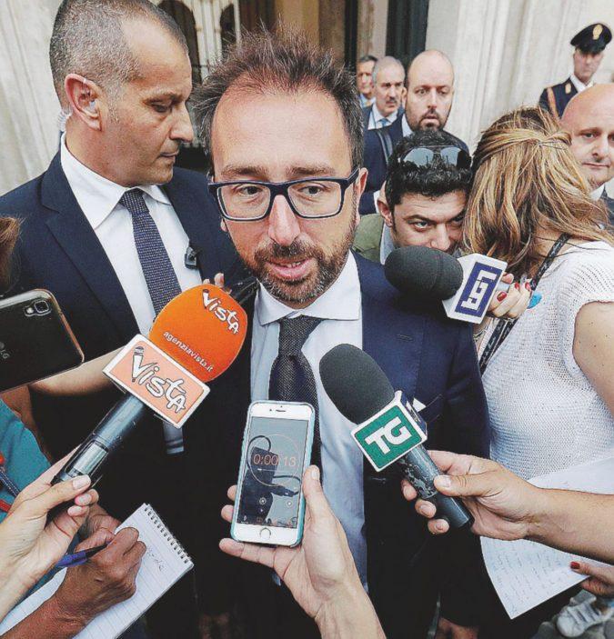 """Intercettazioni, Bonafede: """"La riforma sarà bloccata"""""""