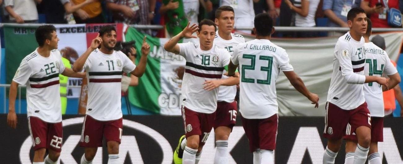 Mondiali Russia 2018, Messico vede gli ottavi: Corea del Sud sconfitta 2-1
