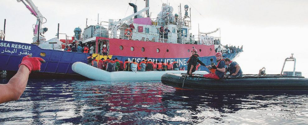 Malta mente, l'Ue tace La Lifeline è Aquarius 2