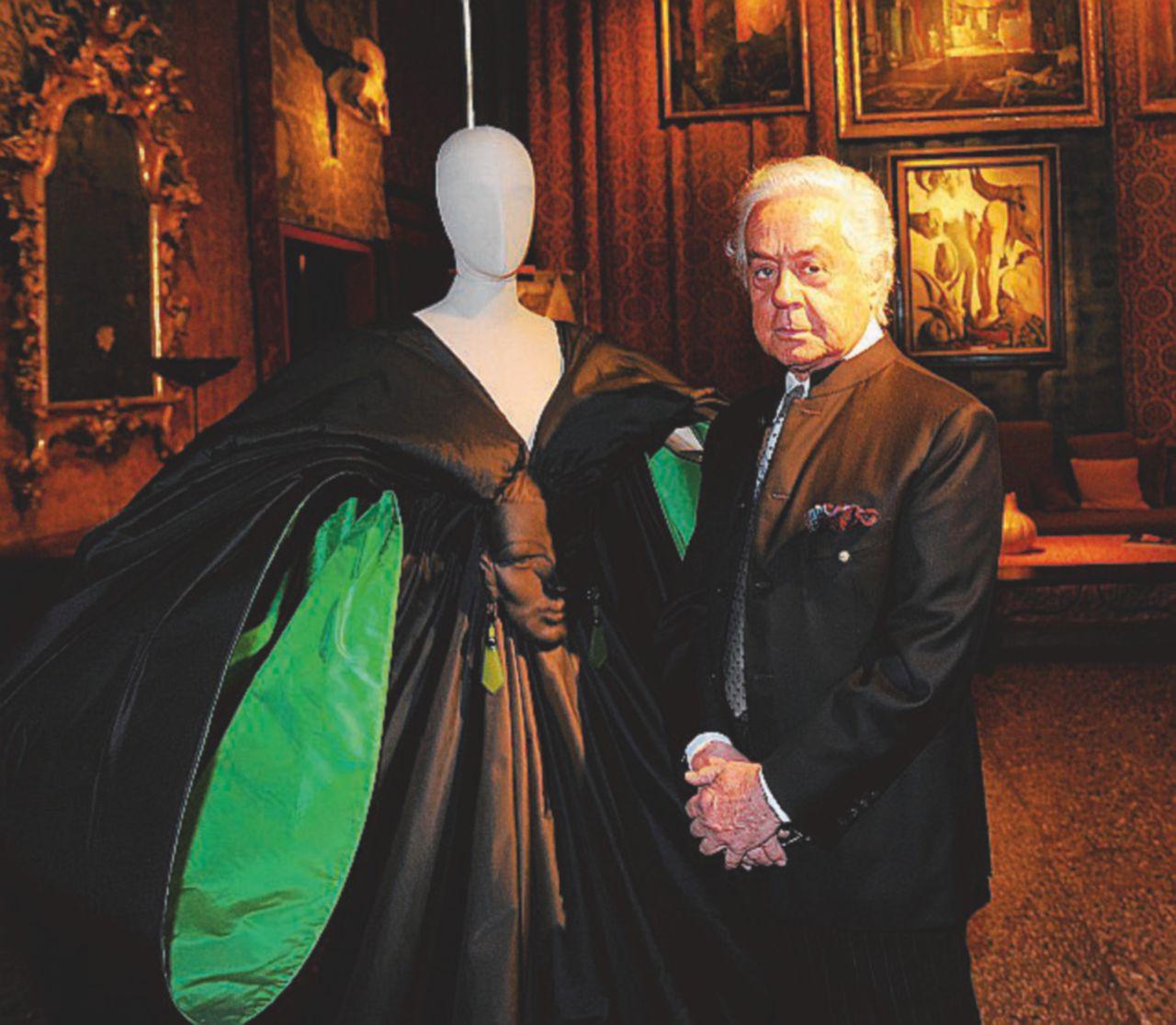 Capucci, l'artista dionisiaco della moda