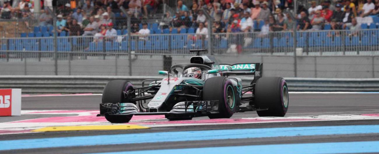 Formula 1, GP di Francia: vince Hamilton. Poi Verstappen e Raikkonen. Vettel è quinto: subito incidente, poi la rimonta