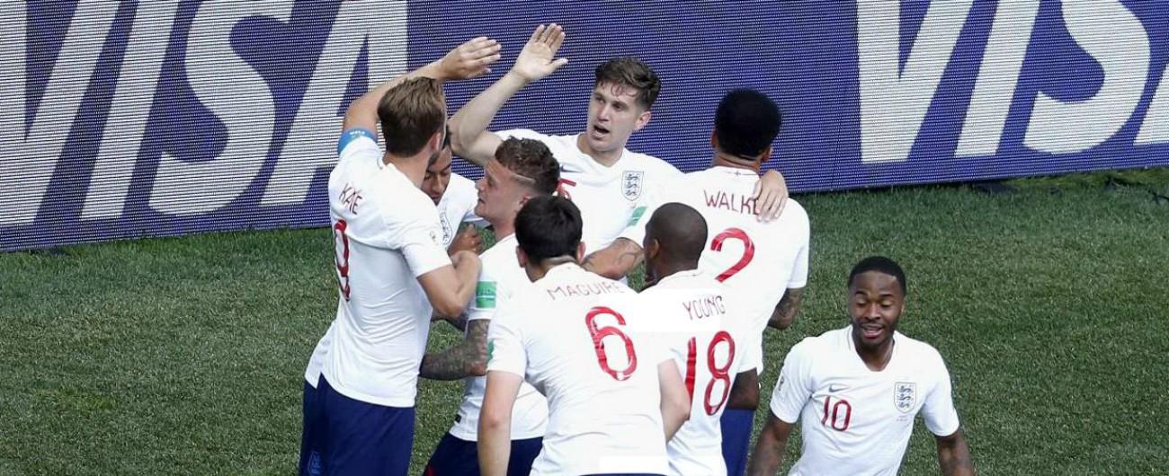 Mondiali 2018, Inghilterra-Panama 6-1: risposta al Belgio e ora c'è il rischio del sorteggio per decidere vincente del girone